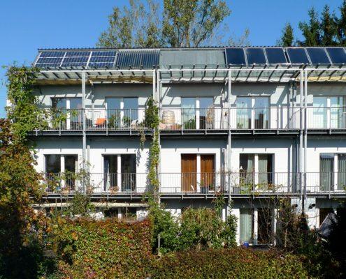 Passivhaus-Modellprojekt Am Obstgarten, Karlsfeld