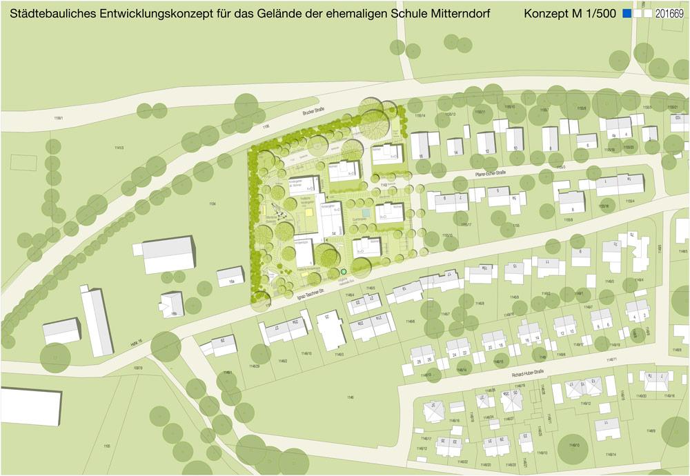 Städtebaukonzept Mitterndorf