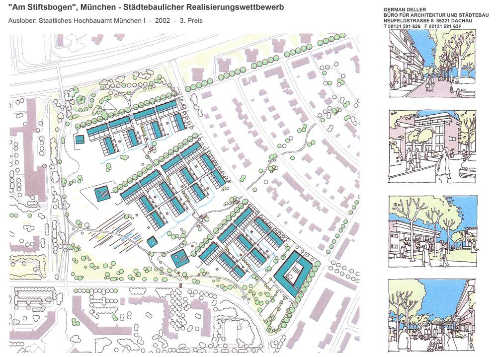 Realisierungswettbewerb Am Stiftsbogen, München